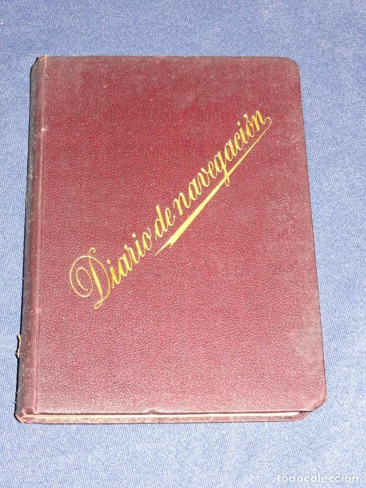Líneas de navegación: LIBRO DIARIO DE NAVEGACION - LINEA DE VAPORES PINILLOS 1911, HABANA, PUERTO RICO, VALENCIA, CADIZ , - Foto 9 - 266516748