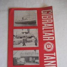 Líneas de navegación: GIBRALTAR TANGER. BRAND LINE. 1951.. Lote 268426309