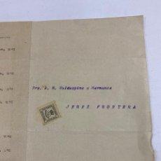 Líneas de navegación: COMPAÑIA TRASATLANTICA. CADIZ. 1902. SALIDAS DEL VAPOR A AMERICA. JOAQUIN PIELAGO. VER. Lote 277693263