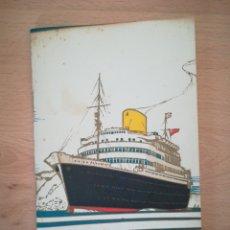 Lignes de navigation: ROYAL MAIL. LIST OF PASSENGERS R.M.S. ANDES 1949.. Lote 283206413
