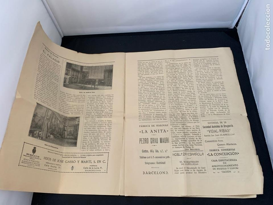 Líneas de navegación: GACETA RADIO MARITIMA AÑO 1929 HISPANO RADIO MARITIMA - Foto 3 - 285626668