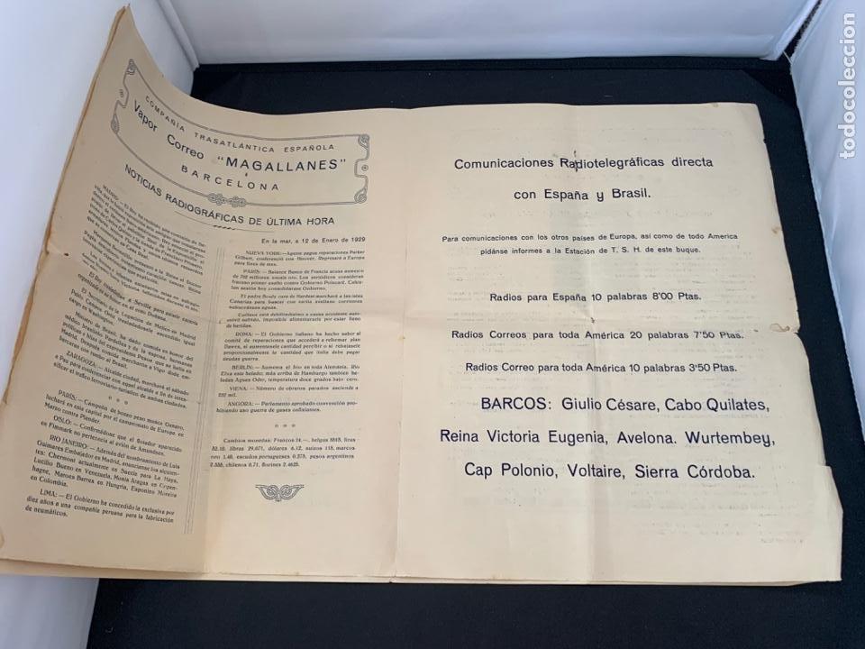 Líneas de navegación: GACETA RADIO MARITIMA AÑO 1929 HISPANO RADIO MARITIMA - Foto 4 - 285626668