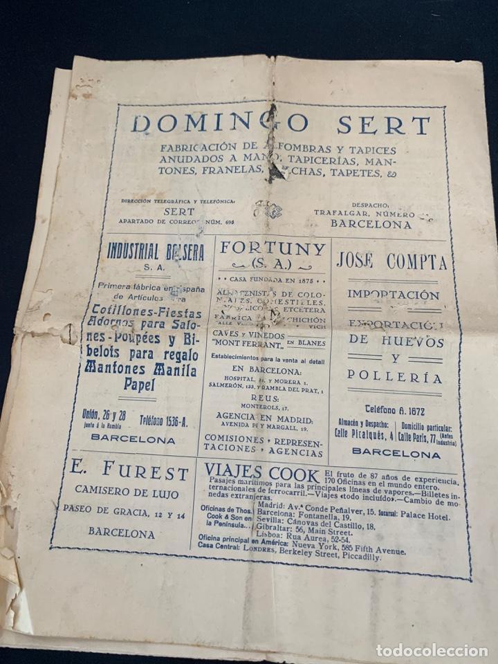 Líneas de navegación: GACETA RADIO MARITIMA AÑO 1929 HISPANO RADIO MARITIMA - Foto 5 - 285626668