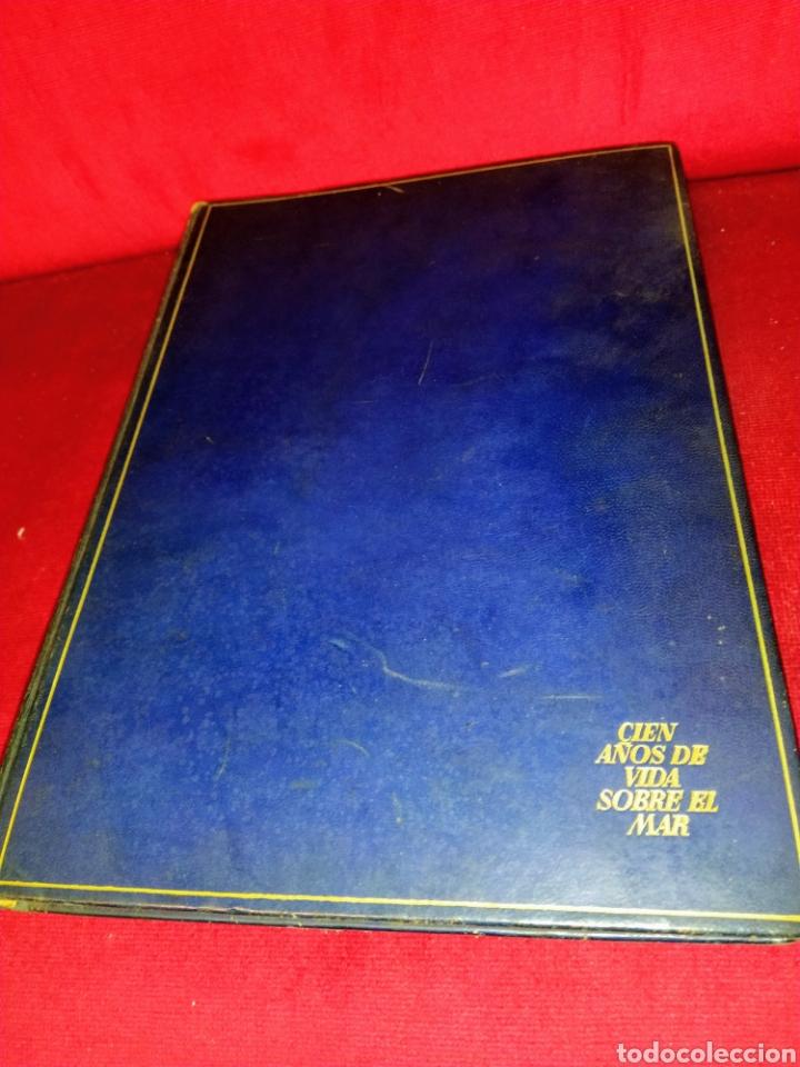 Líneas de navegación: Cien años de vida sobre el mar. 1850 - 1950. Compañía Trasatlantica. 2000 ejemplares. - Foto 3 - 286880583