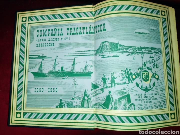 Líneas de navegación: Cien años de vida sobre el mar. 1850 - 1950. Compañía Trasatlantica. 2000 ejemplares. - Foto 4 - 286880583