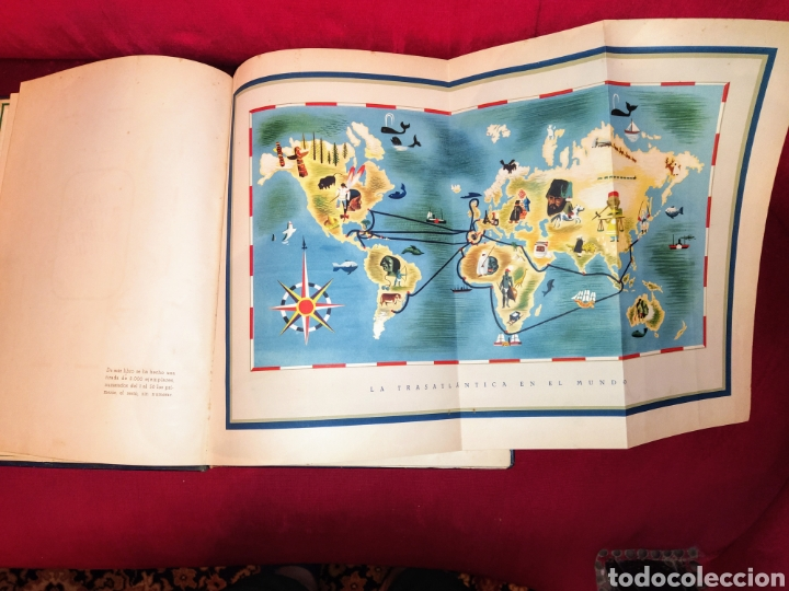 Líneas de navegación: Cien años de vida sobre el mar. 1850 - 1950. Compañía Trasatlantica. 2000 ejemplares. - Foto 6 - 286880583