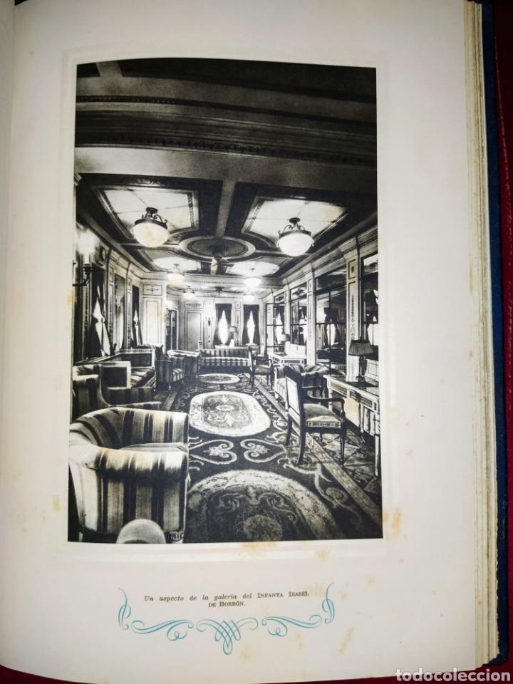Líneas de navegación: Cien años de vida sobre el mar. 1850 - 1950. Compañía Trasatlantica. 2000 ejemplares. - Foto 14 - 286880583