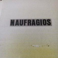 Linhas de navegação: RECORTES DE PRENSA DE NAUFRAGIOS. ALBUM.. Lote 292313233