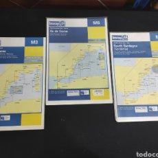 Líneas de navegación: CARTAS DE NAVEGACIÓN NAUTICA. Lote 293600528