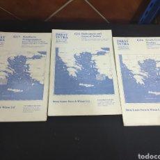 Líneas de navegación: CARTAS DE NAVEGACIÓN NAUTICA. Lote 293601123