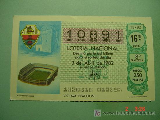 749f0dee3b0a5 1733 MUNDIAL DE FUTBOL 1982 SORTEO 13 MAS EN MI TIENDA TC COSAS CURIOSAS  (Coleccionismo -