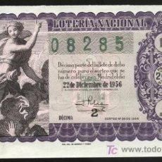 National Spanish Lottery - lotería nacional - sorteo 22 de diciembre de 1956 (nº 36) - 3735113