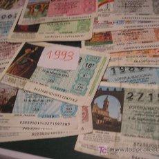 Lotería Nacional: LOTE DE 25 DECIMOS 1993. Lote 6221016