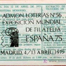 Lotería Nacional: LED1 DECIMO CLAVE COLECCIONISTAS DE ADMINISTRACIONES. Lote 27242950