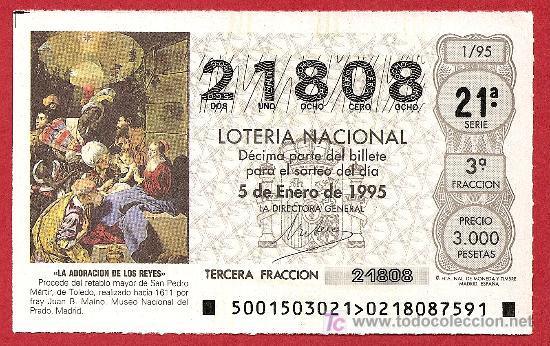 1995 AÑO COMPLETO LOTERIA NACIONAL CON JUEVES Y SÁBADOS (RARO) (Coleccionismo - Lotería Nacional)