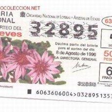 Lotería Nacional: 10-24. LOTERÍA JUEVES. SORTEO 63/96. Lote 107676