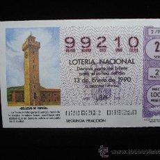 Lotería Nacional: LOTERIA NACIONAL 2 / 90. Lote 9939781