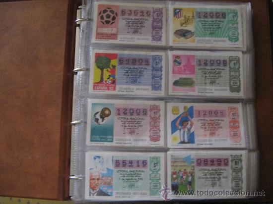 Lotería Nacional: Album cupones de loteria - Foto 2 - 27210236