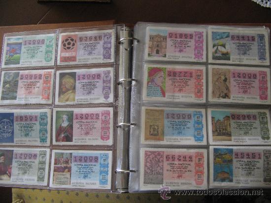 Lotería Nacional: Album cupones de loteria - Foto 3 - 27210236