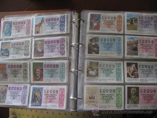 Lotería Nacional: Album cupones de loteria - Foto 4 - 27210236