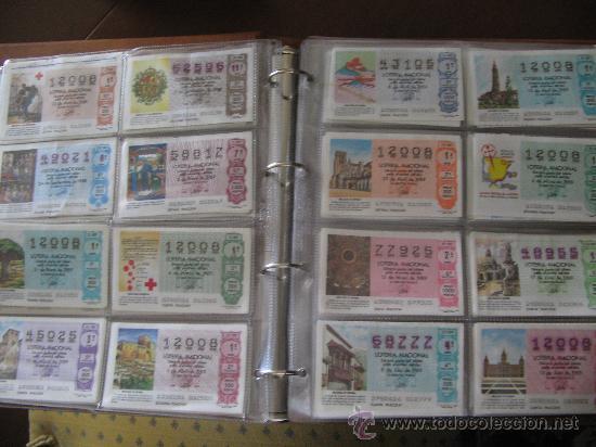 Lotería Nacional: Album cupones de loteria - Foto 6 - 27210236