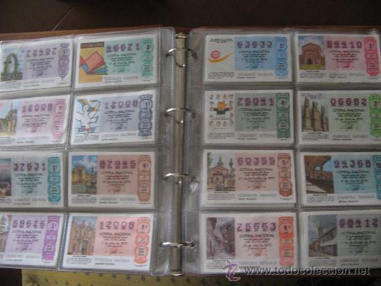 Lotería Nacional: Album cupones de loteria - Foto 9 - 27210236