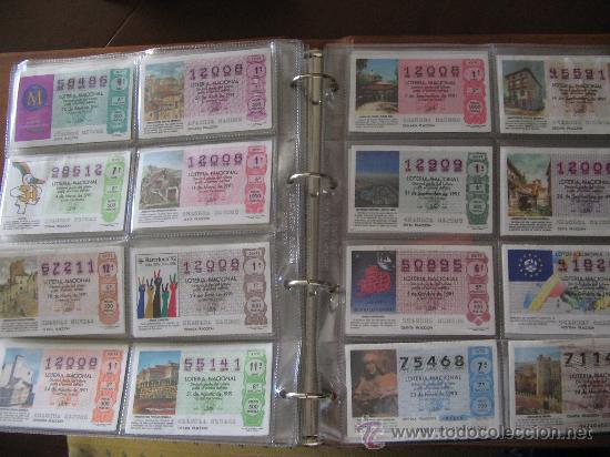 Lotería Nacional: Album cupones de loteria - Foto 11 - 27210236