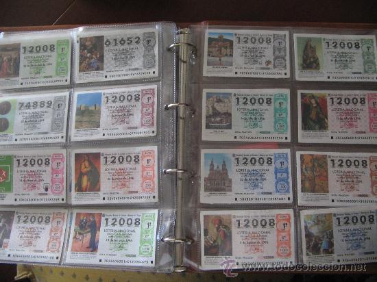Lotería Nacional: Album cupones de loteria - Foto 12 - 27210236