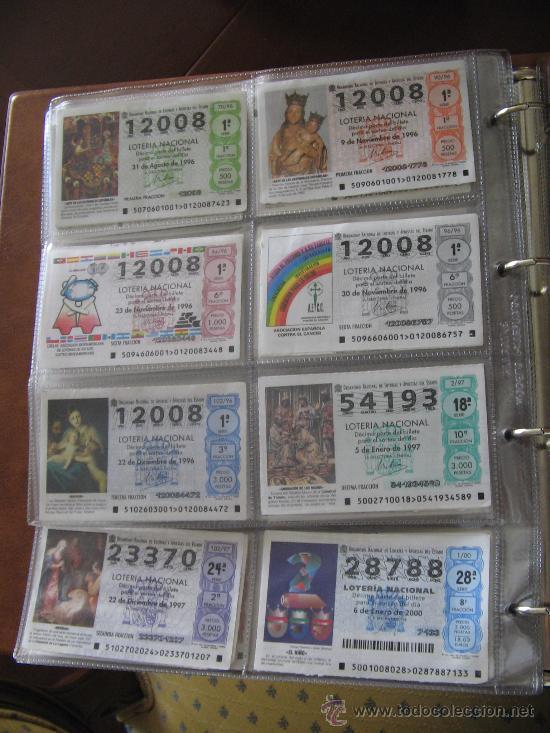 Lotería Nacional: Album cupones de loteria - Foto 13 - 27210236