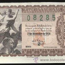 National Spanish Lottery - Lotería Nacional 1956 - 22 de Diciembre ( sorteo 36 ) - 13029058