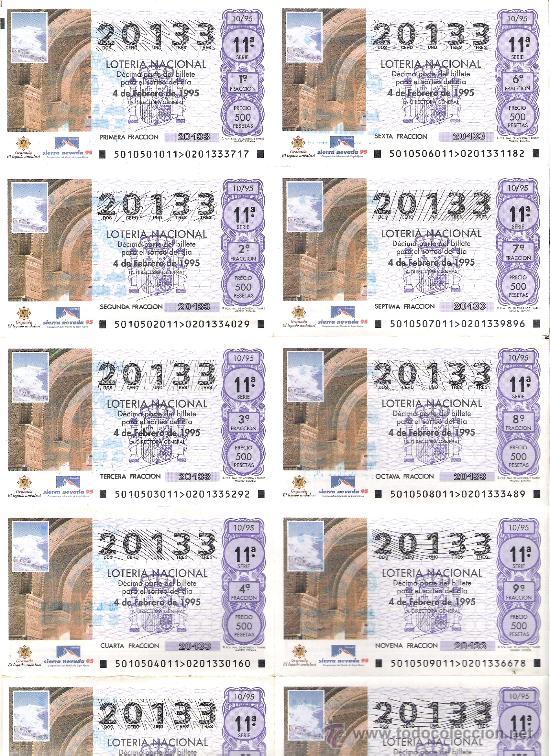 billete loteria del sabado febrero  granada legado andalusi sierra nevada