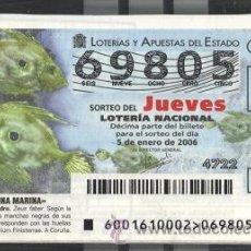 Lotería Nacional: LOTERÍA NACIONAL DE LOS JUEVES, 2006 ( AÑO COMPLETO ). Lote 27368523