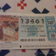 Lotería Nacional: LOTERÍA DE NAVIDAD 2004.. Lote 25131853