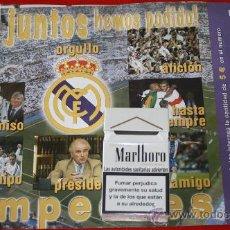 Lotería Nacional: LOTERIA DEL REAL MADRID. Lote 27957731