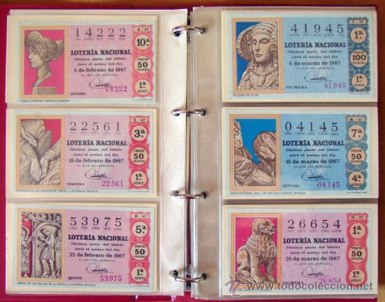 Lotería Nacional: LOTERIA NACIONAL . AÑO 1967 . 30 DÉCIMOS . NUEVOS - Foto 3 - 30589519