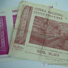 Lotería Nacional: PARTICIPACIÓN SORTEO DE NAVIDAD. Lote 32316349