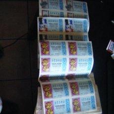Lotería Nacional: LOTE LOTERIA NACIONAL 1987, 1975, 1976, PLIEGO LOTERIA, BOLETOS SUELTOS LOTERIA 39 NUMEROS. LISTADO.. Lote 85086688
