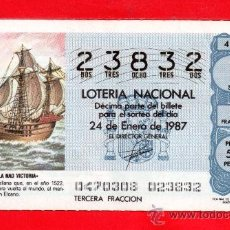 Lotería Nacional: UN DECIMO DE LOTERIA NACIONAL CAPICUA. Lote 33618058