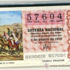 Lotería Nacional: LOTERÍA NACIONAL - 1979. Lote 35789154
