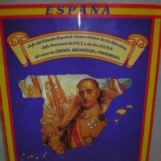 Lotería Nacional: TRIPTICO DE 400 PESETAS PARA EL SORTEO DE NAVIDAD DEL 22 DE DICIEMBRE 1996 - FRANCO. Lote 174208372