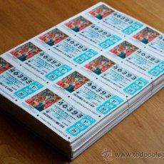 National Spanish Lottery - LOTERIA NACIONAL 22 DICIEMBRE 2010 NUMEROS COMPLETOS (52651 Y 46393) CON SUS 195 SERIES Y FRACCIONES - 35926609