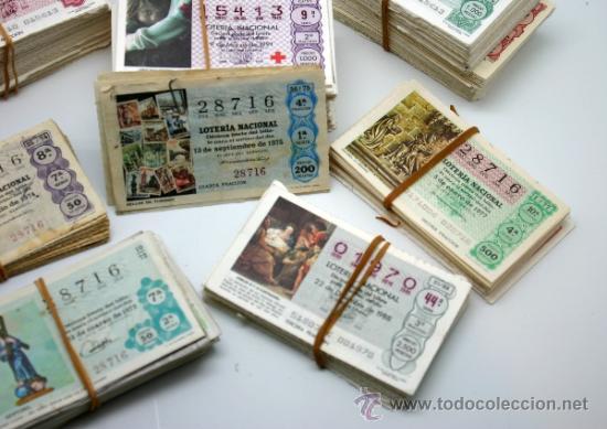 Lotería Nacional: Lote décimos de Loteria Nacional. - Foto 4 - 37358639