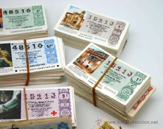 Lotería Nacional: Lote décimos de Loteria Nacional. - Foto 3 - 37358639