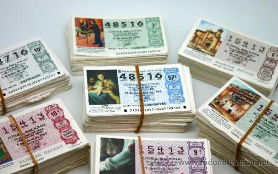 Lotería Nacional: Lote décimos de Loteria Nacional. - Foto 2 - 37358639