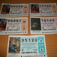 National Spanish Lottery - decimos loteria nacional año 2012 - 37455005