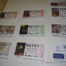 Lotería Nacional: LOTERIA NACIONAL 2012 NOVIEMBRE DIA 29 FIESTAS DE LA MARE DE DEU DE LA SALUT DE ALGEMESI. Lote 37871988