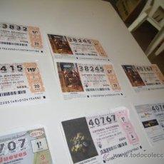 National Spanish Lottery - LOTERIA NACIONAL 2012 DICIEMBRE DIA 22 5 DECIMOS DE NAVIDAD - 37872033