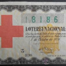 Lotteria Nationale Spagnola: (4711)LOTERIA NACIONAL,SORTEO 28 DE 1956,CONSERVACION:VER FOTO. Lote 38535602