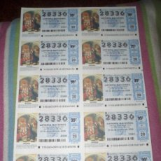 Lotería Nacional: BILLETE DEL SORTEO 102/06 DEL 22/12/06 - Nº 28336 - TEMA: NAVIDAD 2006. Lote 38591573