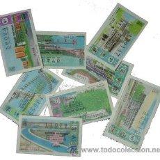 Lotería Nacional: LOTERIA NACIONAL 1973. AÑO COMPLETO. SABADOS.. Lote 134851029